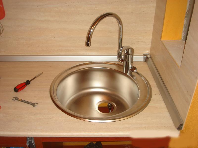 Реставрация кухонной мойки своими руками